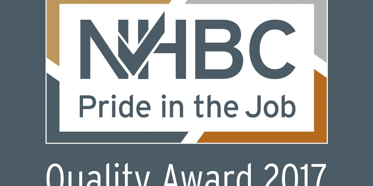 NHBC Pride in the job quality award
