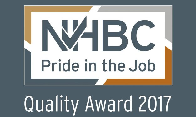 NHBC Pride in the job quality award