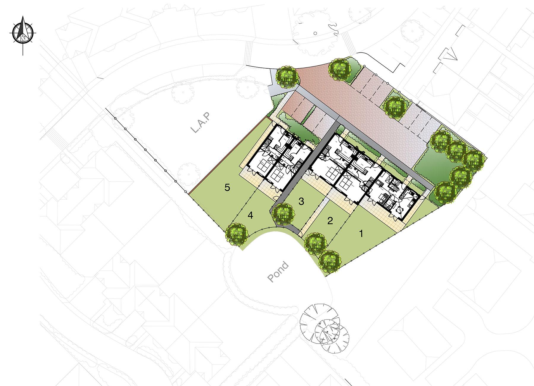 Sutton Valence, Greensand Meadow siteplan